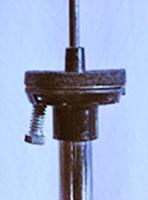 installation de la mousse par dessus la rondelle