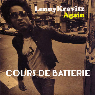 batterie cover lenny kravitz again. Black Bedroom Furniture Sets. Home Design Ideas